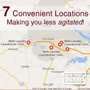 7 Convenient Wells Laundry Locations in Central Texas