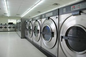 Inside of Wells Laundry in Harker Heights